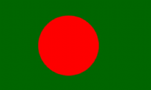 BANGLADESH - MINI FLAG 22.5cm x 15cm